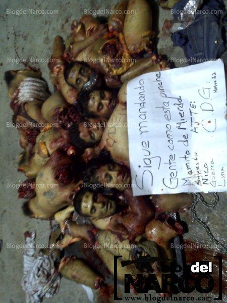 Fotos de ejecutados en montemorelos