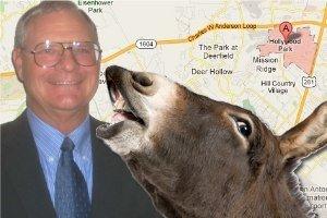 Alcalde de Texas muere por ataque de un burro