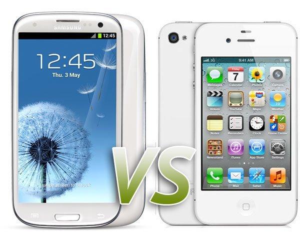¿Cuál es el mejor iPhone 4S o Galaxy S III?