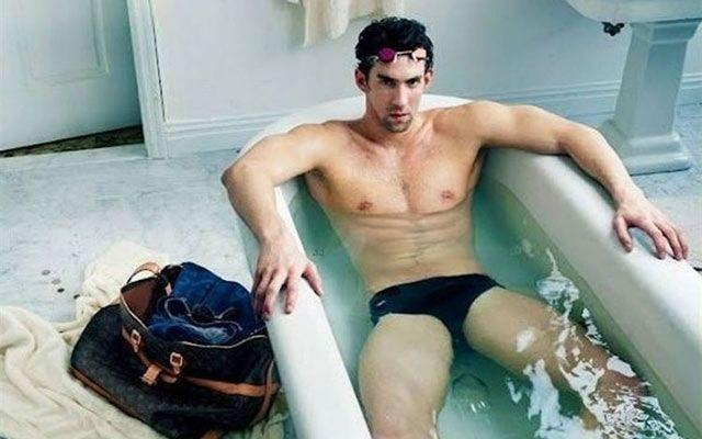 Foto: La misteriosa burbuja alrededor de Michael Phelps