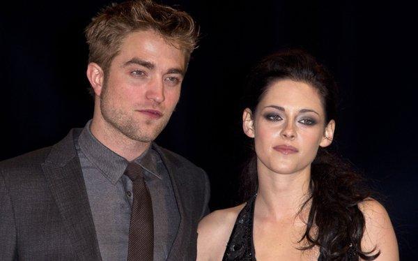 Robert Pattinson y Kristen Stewart juntos en la premiére de Amanecer: Parte 2