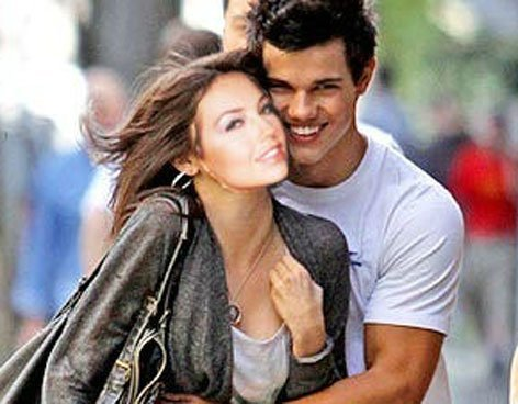 Divertidas fotos de Thalia y Taylor Lautner juntos