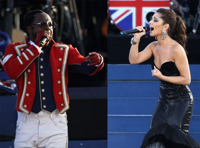 Will.i.am y Cheryl Cole sufren accidente vial