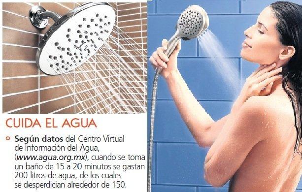 Cómo ahorrar agua en la ducha