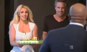 Video: Britney Spears canta a capella en 'The X Factor'