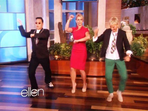 Video: Britney Spears baila 'Gangnam Style' con PSY