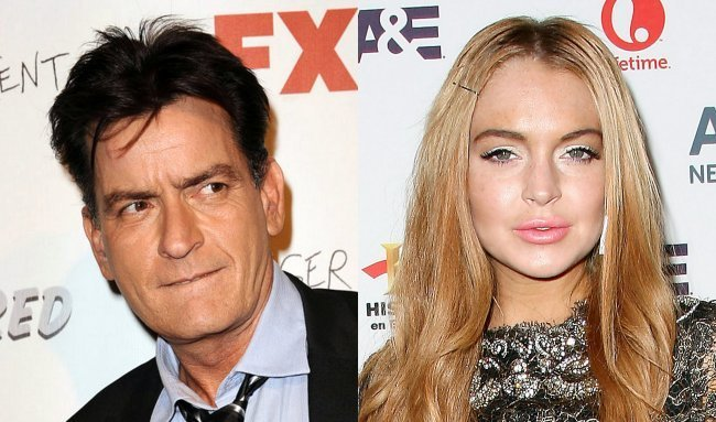 Video de Lindsay Lohan y Charlie Sheen teniendo relaciones