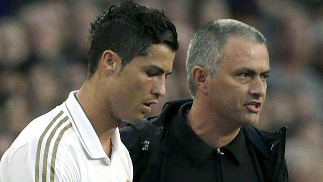Mourinho humilló a Cristiano Ronaldo frente a sus comprañeros