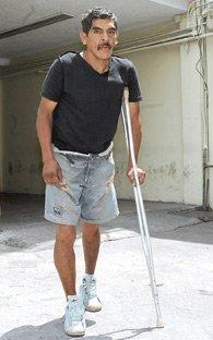 Se hacía pasar por discapacitado para vender droga
