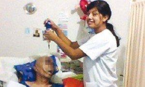Enfermera publica fotos de pacientes terminales en Facebook