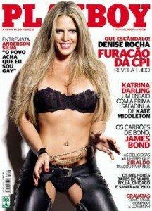 Sensual funcionaria posa en Playboy - Fotos