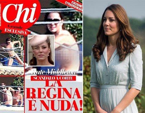 Nuevas fotos de Kate Middleton sin ropa