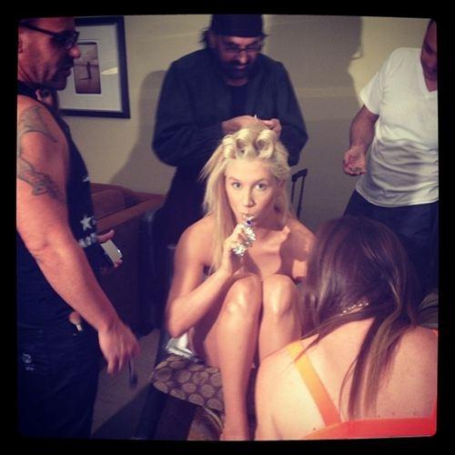 Foto de Kesha sin ropa en Twitter