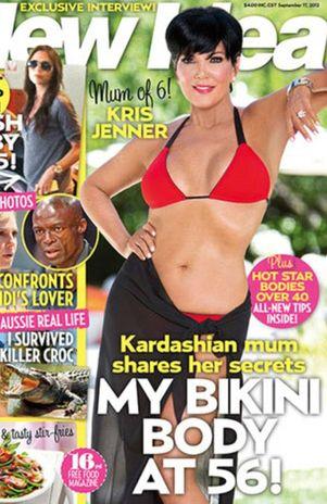 Kris Jenner muestra deslumbrante cuerpo en bikini - Foto