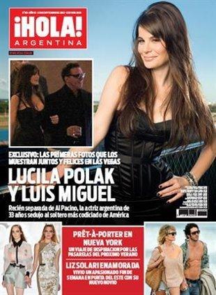 Fotos de Luis Miguel con la ex de Al Pacino