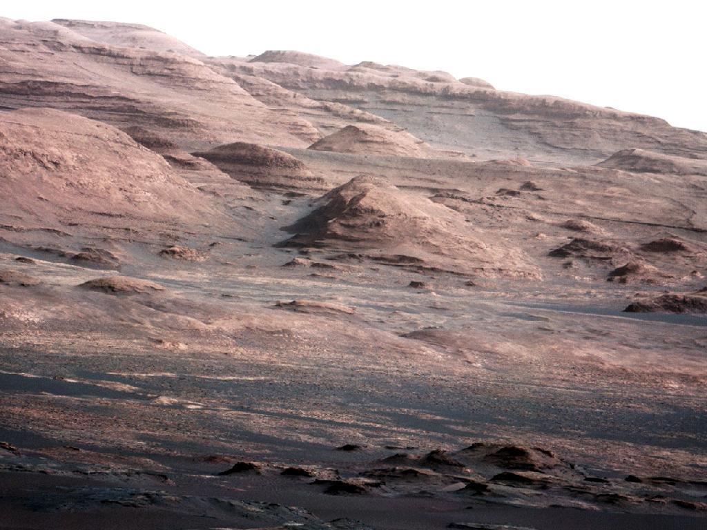 En Marte nieva hielo seco - CO2 en Marte