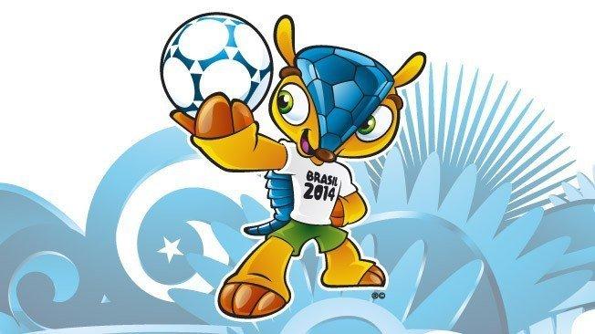 Fotos y video: Conoce a la mascota del Mundial de Brasil 2014