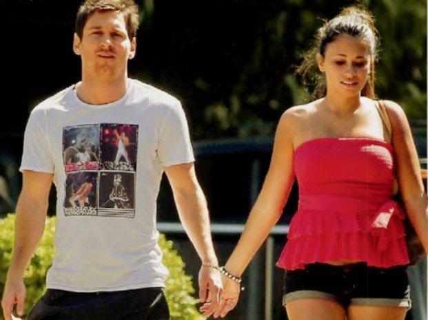 Fotos: La novia de Lionel Messi embarazada