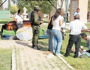 Matan a ocho personas durante un funeral en Torreón