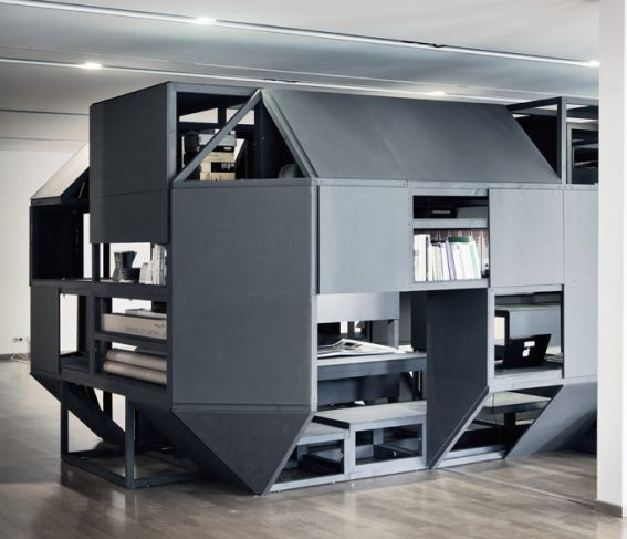 Increíble: Casa en la oficina, literal - Fotos