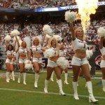 Fotos de las porristas más sexys de la NFL