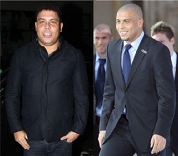 Foto: El antes y el después del futbolista brasileño Ronaldo