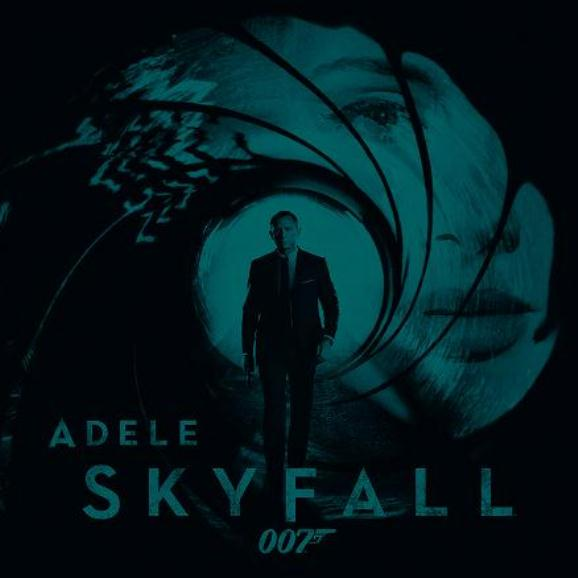 Escucha 'Skyfall' de Adele para James Bond