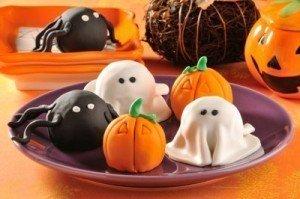 Recetas de Halloween: Bolitas de pastel