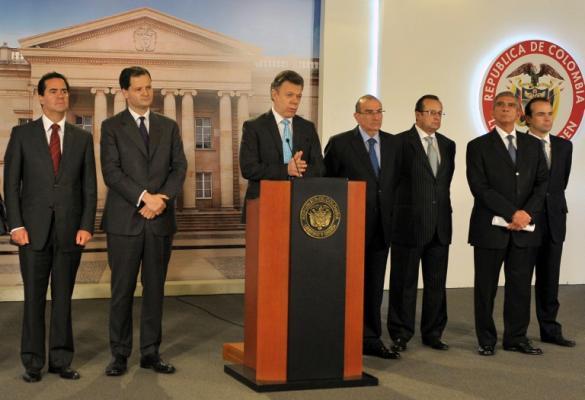 Éste es el equipo que negociará con las FARC