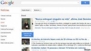 Por qué Google no incluye a los periódicos brasileños