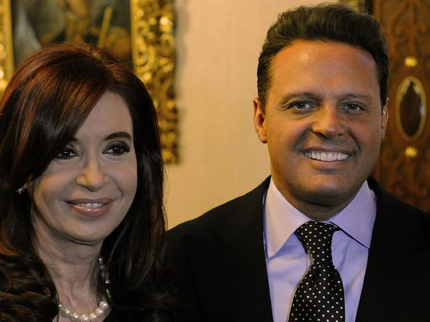 Luis Miguel se reúne con la presidenta de Argentina - Fotos