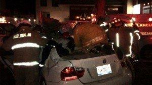 Luis Venegas, jugador del Atlante, sufre fuerte accidente