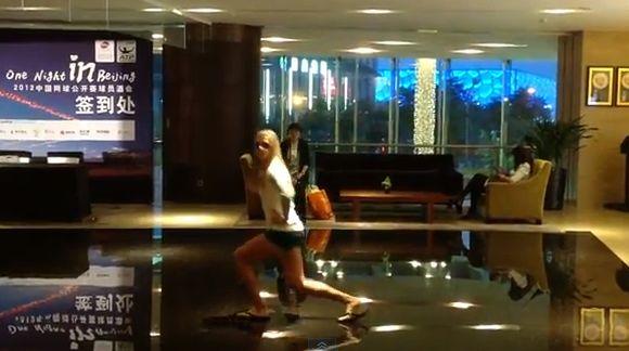 Video: Maria Sharapova baila el 'Gangnam Style' de PSY