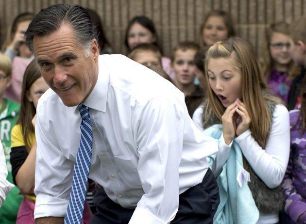 La foto más divertida y polémica de Mitt Romney