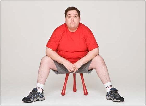 La obesidad reduce la producción de tetosterona
