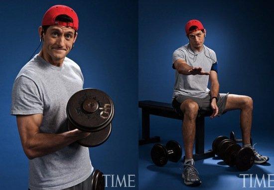 Así se prepara Paul Ryan, aspirante a la Vicepresidencia de Estados Unidos - Fotos