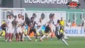Video: Anulan tremendo gol de Ronaldinho