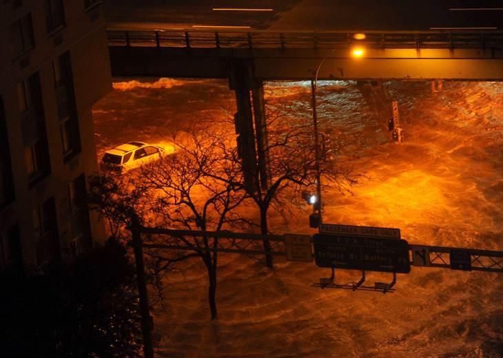 17 muertos en Estados Unidos por huracán Sandy - Fotos
