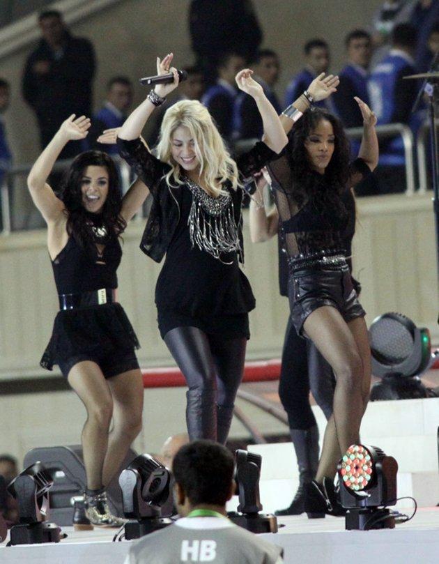 Video: Recital de Shakira embarazada en la Copa Mundial Sub-17 Femenil de la FIFA