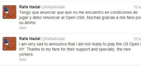 Precios para ver a Rafael Nadal en el Abierto Mexicano de Tenis