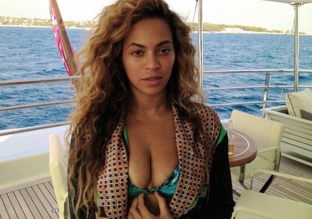 Foto de Beyoncé al natural como nunca la viste