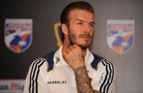 David Beckham deja el Galaxy de Los Ángeles