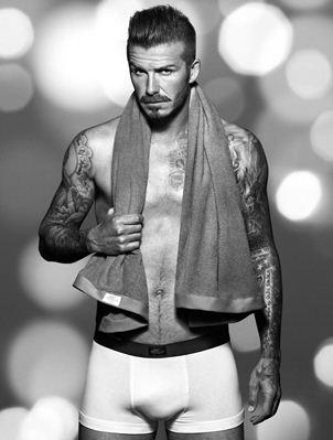 Nuevas fotos de David Beckham en ropa interior