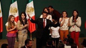 La toma de protesta de Enrique Peña Nieto