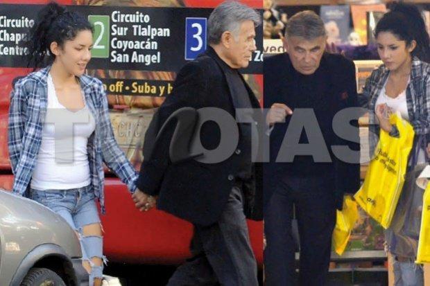 El actor Héctor Suárez tiene novia de 21 años - Fotos