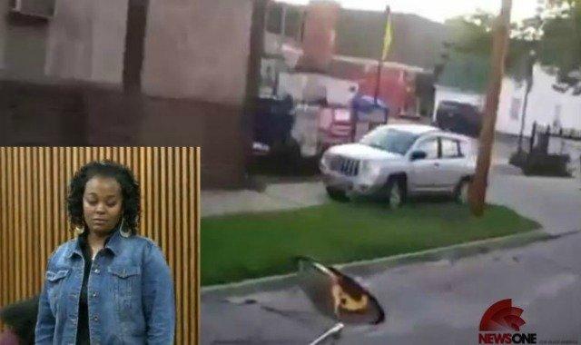 Conductora infractora portará cartel contra idiotas - Video