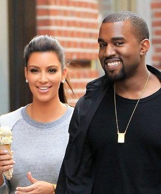 Kim Kardashian y Kanye West serán padres de gemelos