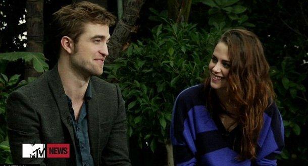 Video: Primera entrevista de Robert Pattinson y Kristen Stewart juntos