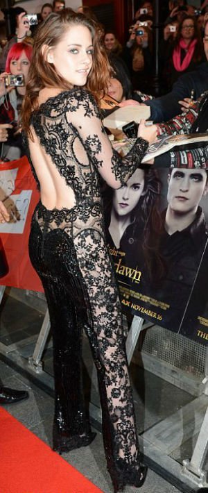 Kristen Stewart en público sin ropa interior - Fotos
