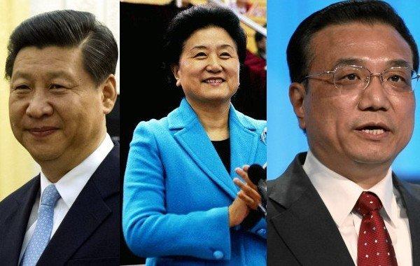 ¿Quiénes son los nuevos líderes de China?